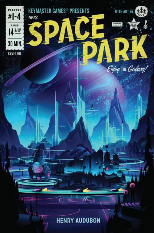 space park game cover