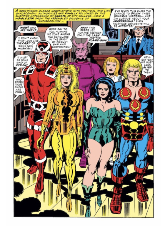 the eternals comic