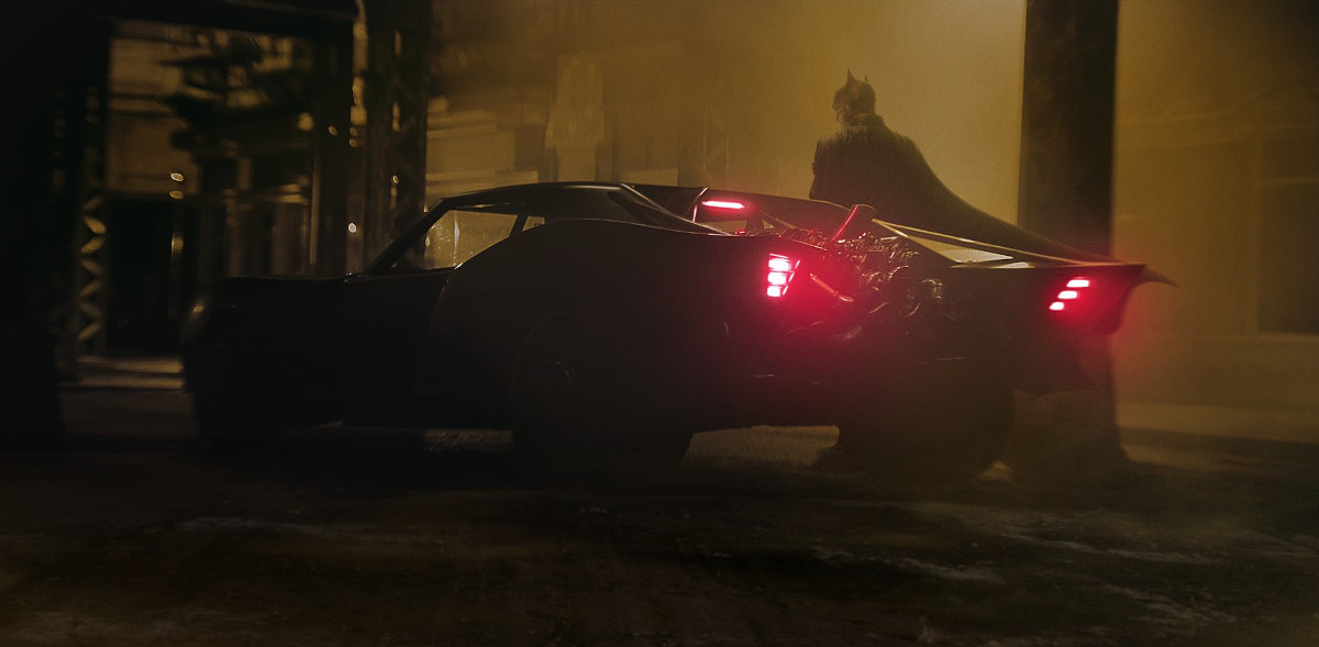 Awesome! We Have Our First Look at the Batmobile from THE BATMAN