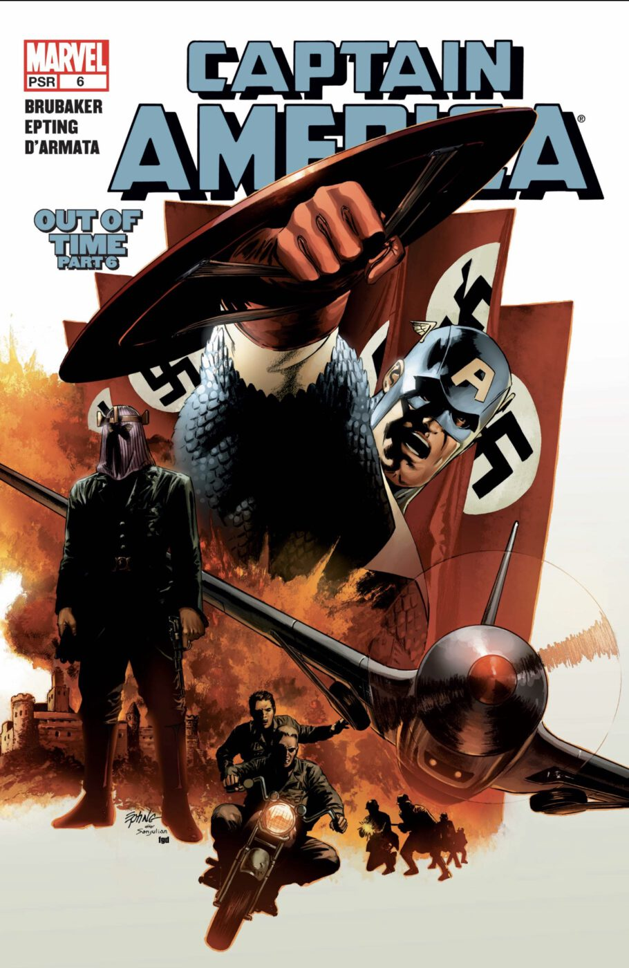 captain america out of time comic cover
