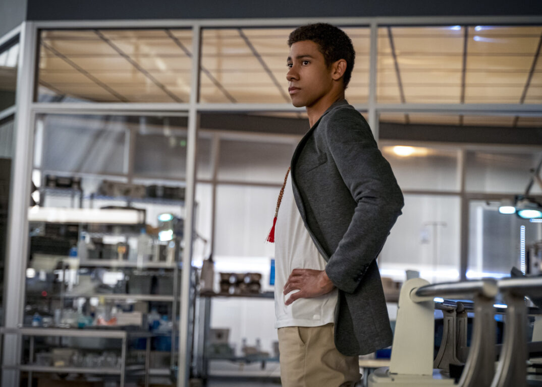 Wally has questions about the speed force on The Flash