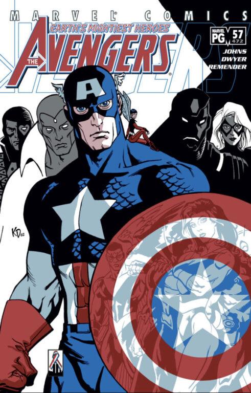 Comic Cover - Avengers