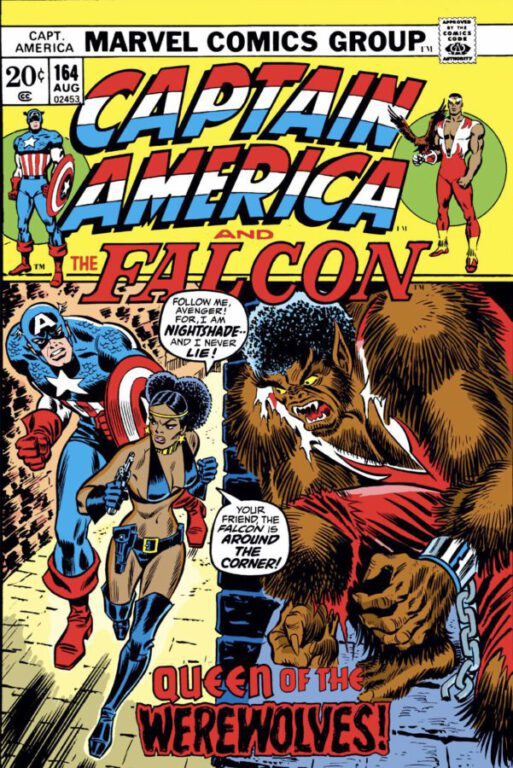 Comic Cover - Captain America and the Falcon
