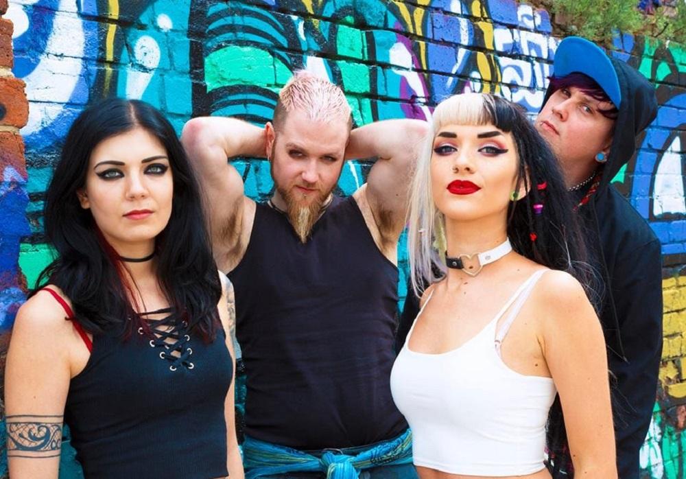 Becky Baldwin, Sean Bon, Lauren Tate and Sam Hobbins of Hands Off Gretel