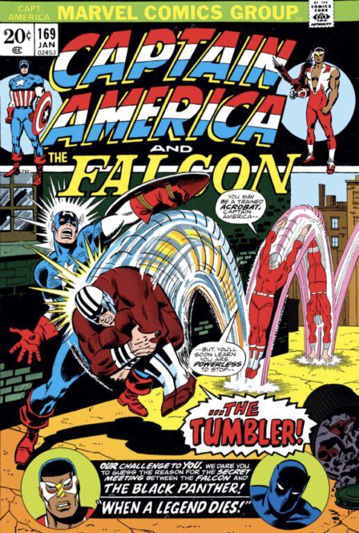 Captain America and the Falcon 169 cover