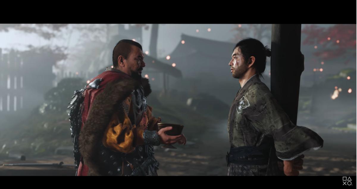 General Khotun Khan and Jin Sakai