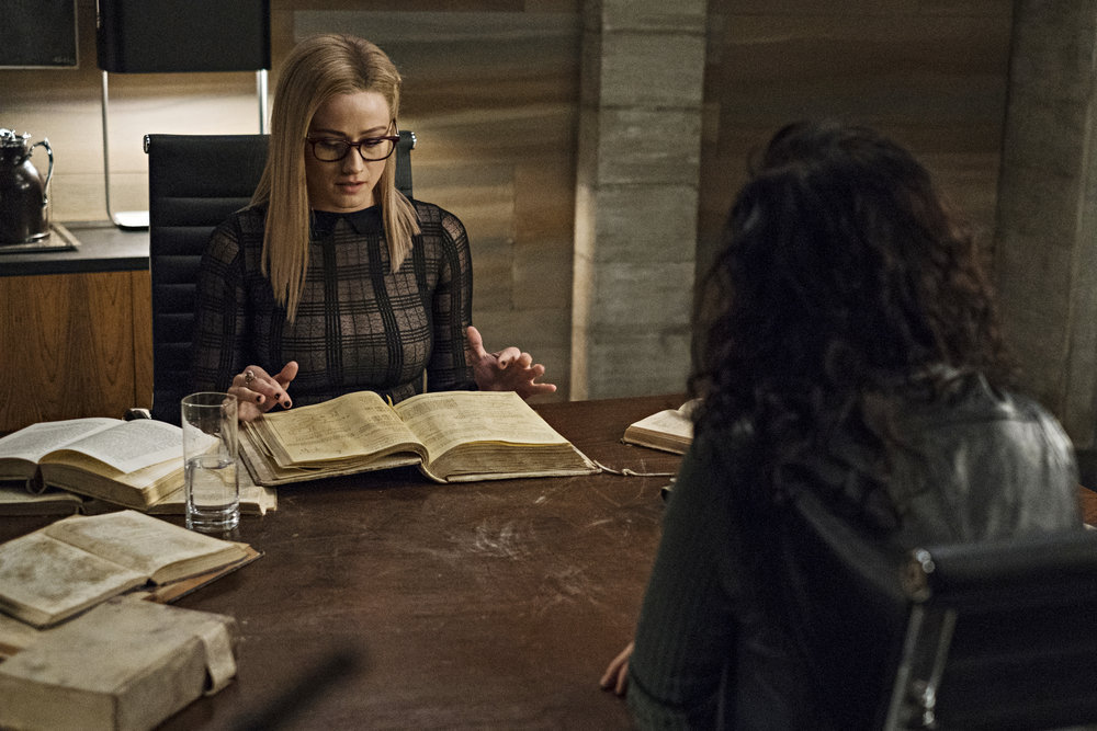 Still of Olivia Taylor Dudley and Jade Tailor in The Magicians