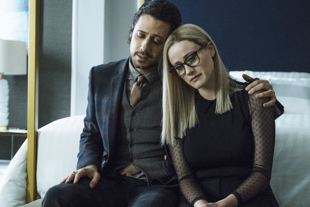 Still of Hale Appleman and Olivia Taylor Dudley in The Magicians