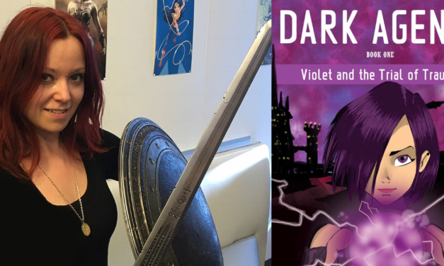 Janina Scarlet on Her New Book DARK AGENTS, Facing Trauma, and Slytherin Pride