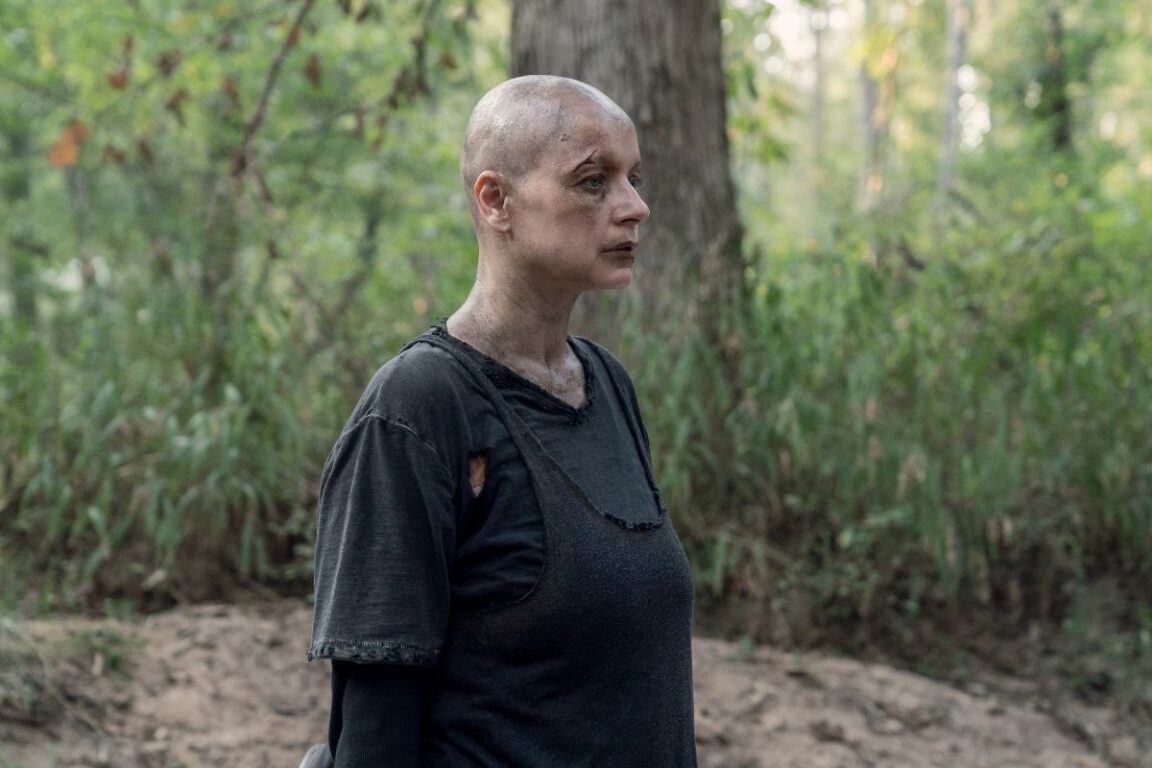 Alpha has plans for Hilltop on The Walking Dead