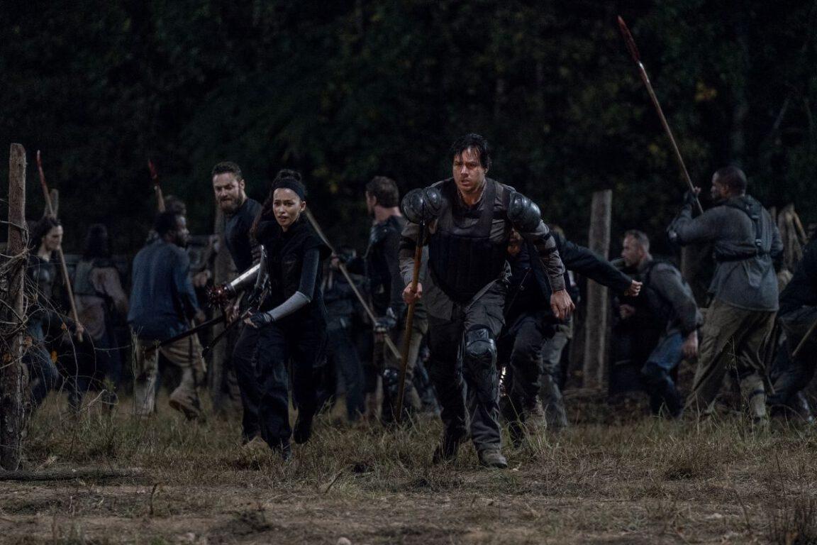 Hilltop prepares for war on The Walking Dead.