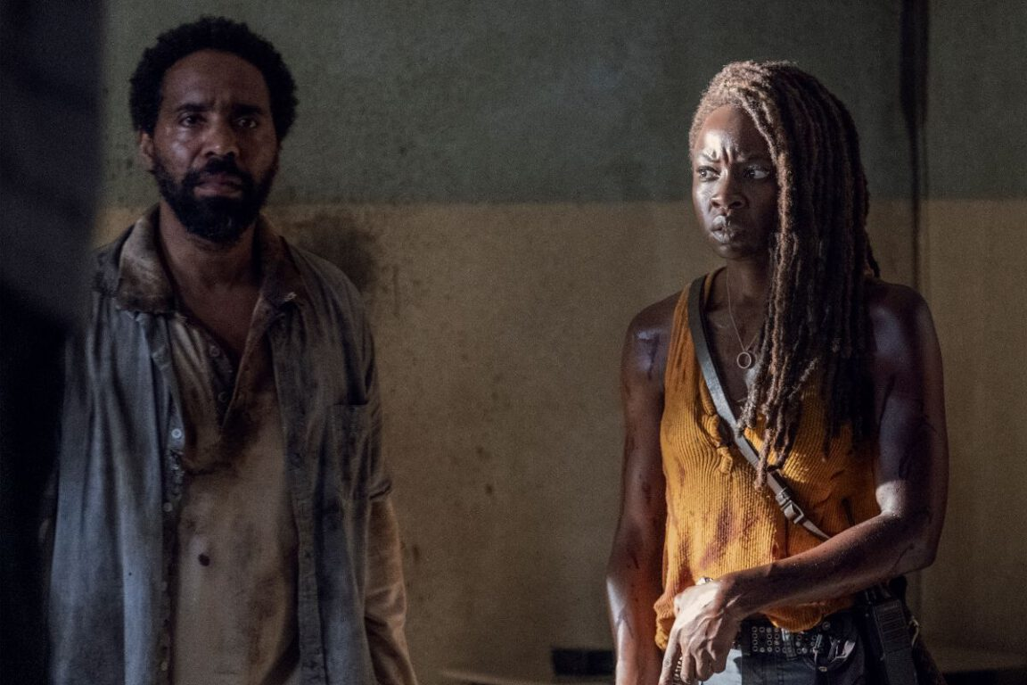 Michonne makes an interesting discovery on The Walking Dead