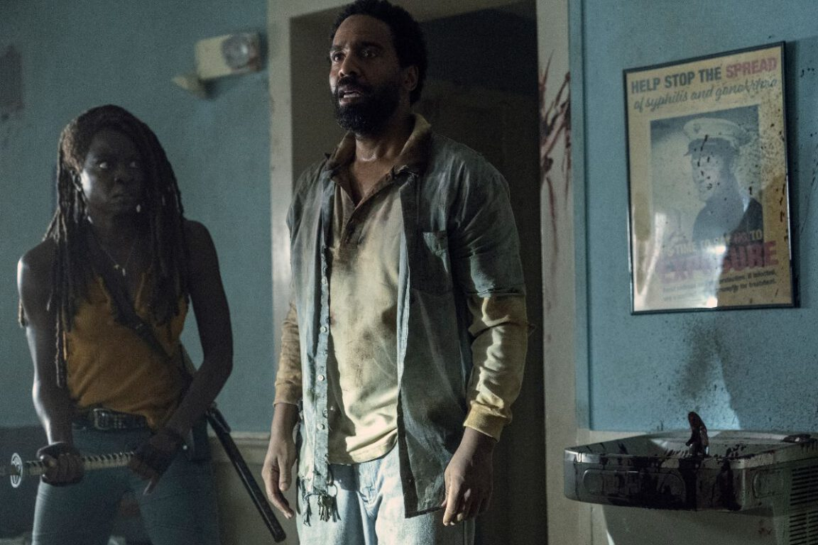 Virgil introduces Michonne to his island on The Walking Dead