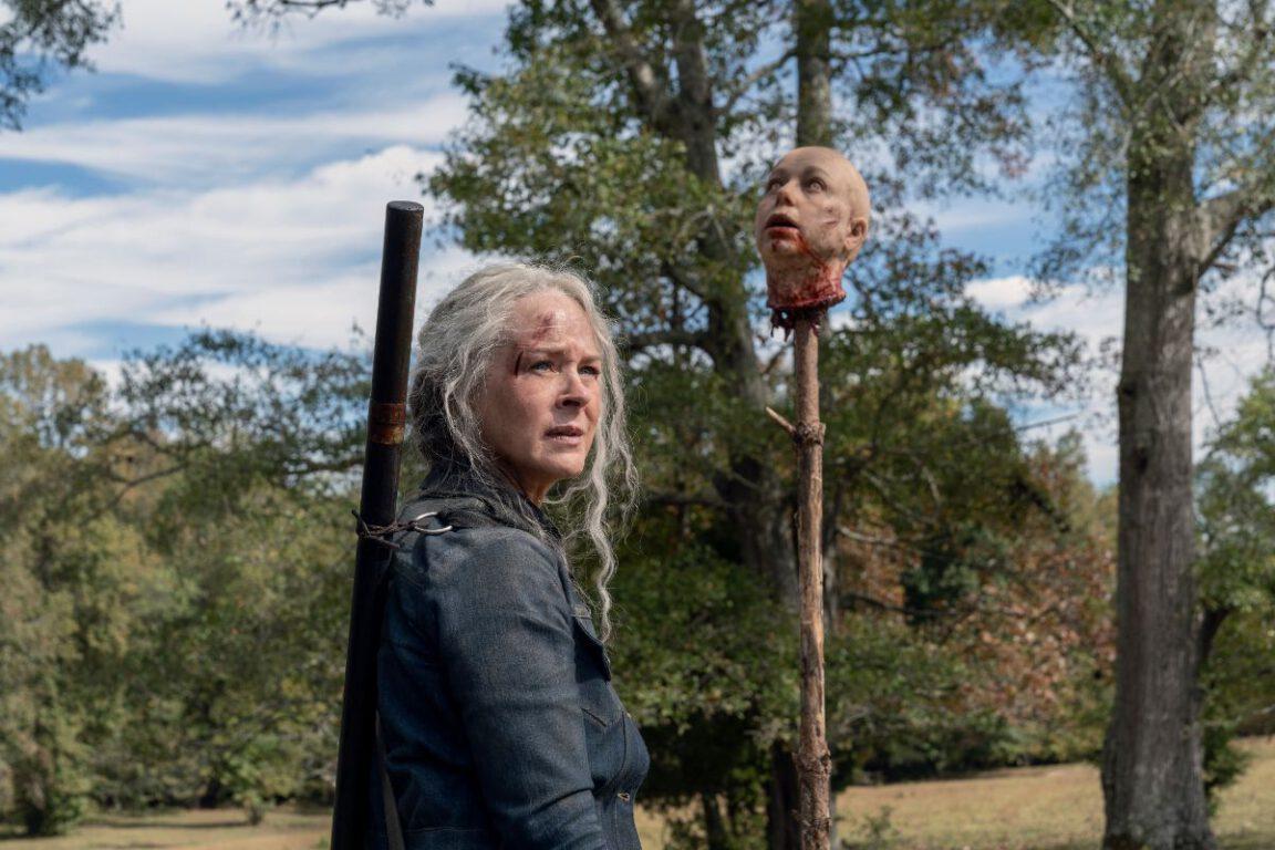 Carol wins her war against Alpha in The Walking Dead