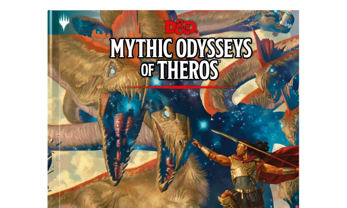 Next DUNGEONS AND DRAGONS Book: MYTHIC ODYSSEYS OF THEROS!
