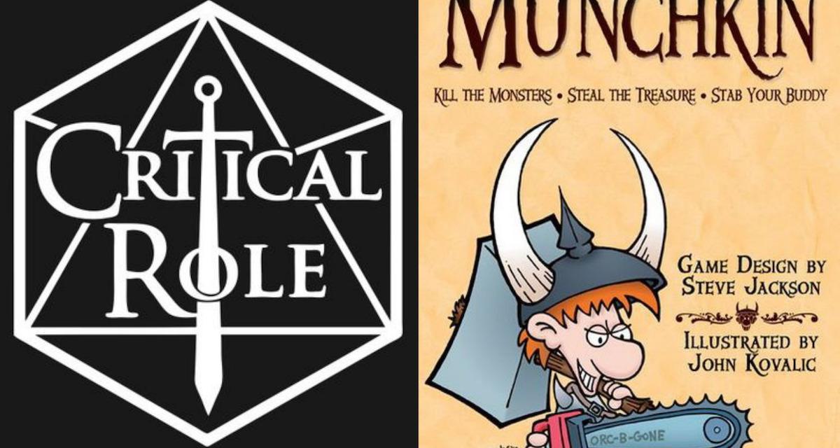BREAKING: CRITICAL ROLE Coming to MUNCHKIN!
