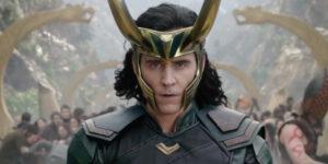 Loki from Marvel movie Thor: Ragnarok.