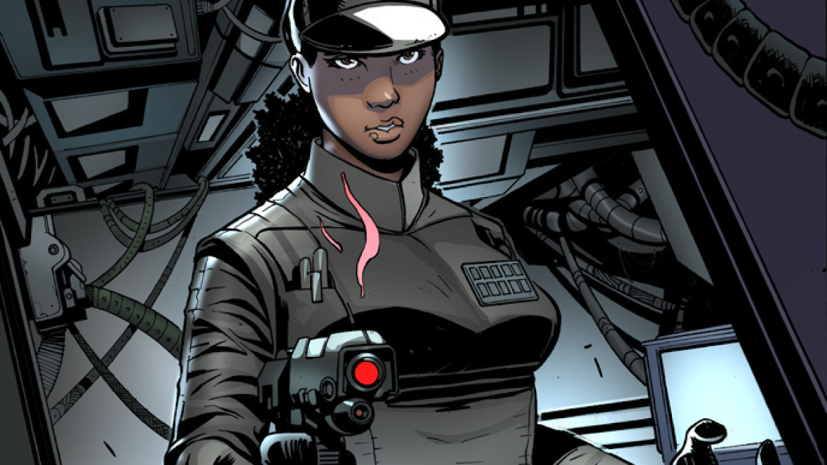 Rae Sloane from Star Wars