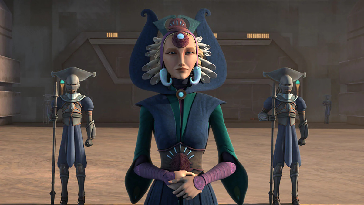 Duchess Satine Kryze of Star Wars: The Clone Wars