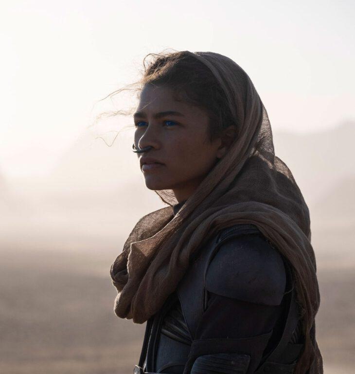 Zendaya as Chani in Dune