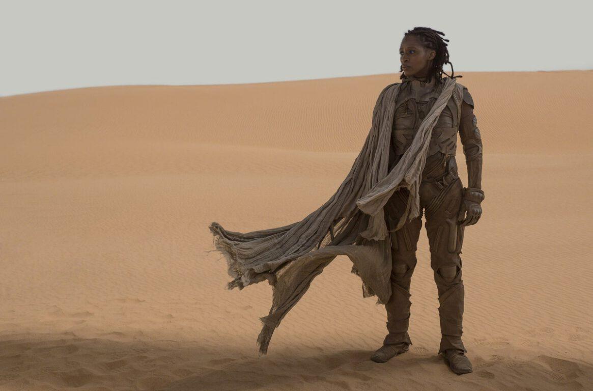 Sharon Duncan-Brewster as Liet Kynes in Dune