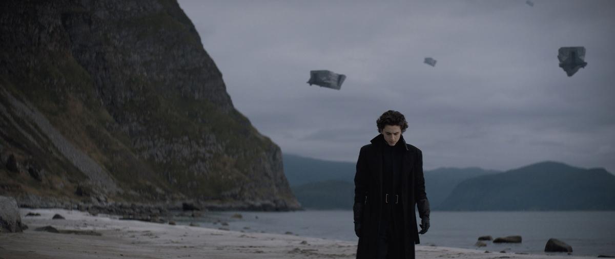 Timothée Chalamet stars as Paul Atreides in Dune