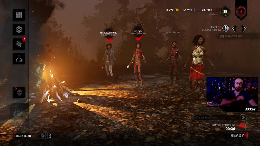 Morf_UK Twitch Stream of Dead by Daylight