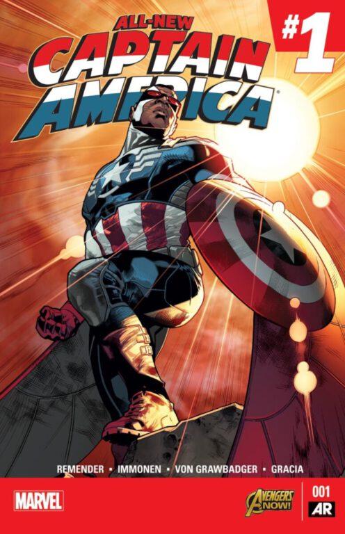 The Falcon as Captain America