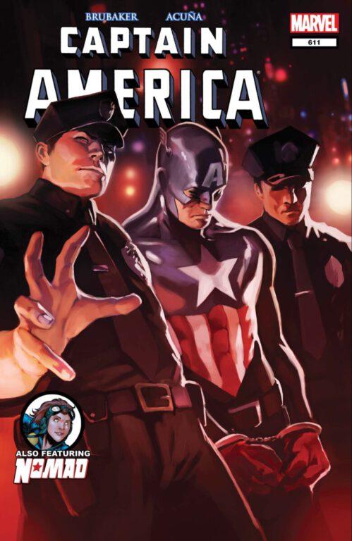captain america 611 cover