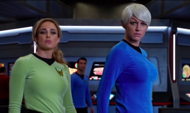 DC's LEGENDS OF TOMORROW Parodies STAR TREK in New Trailer