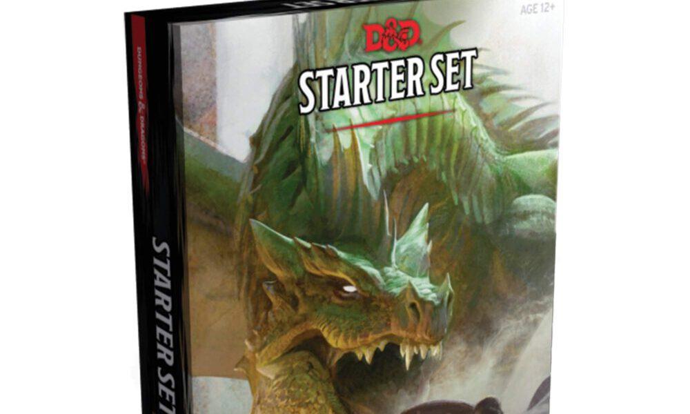 The DnD Starter Set box.
