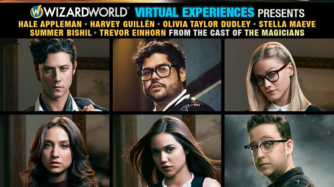 THE MAGICIANS Cast Reunites for Wizard World Virtual Experience