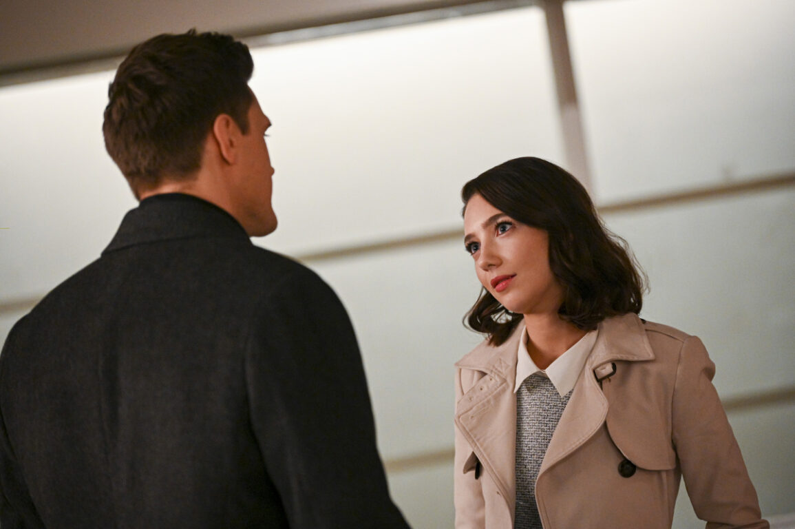 Ralph catches up with Sue on The Flash