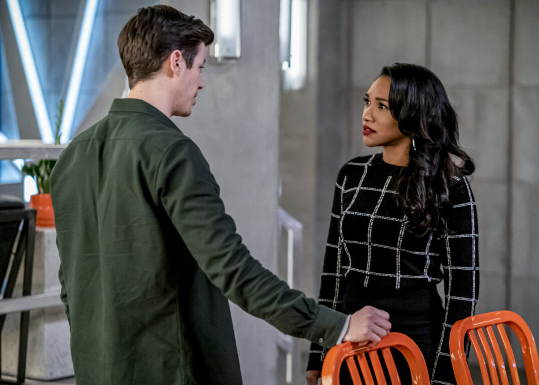 Iris is frustrated with Barry on The Flash