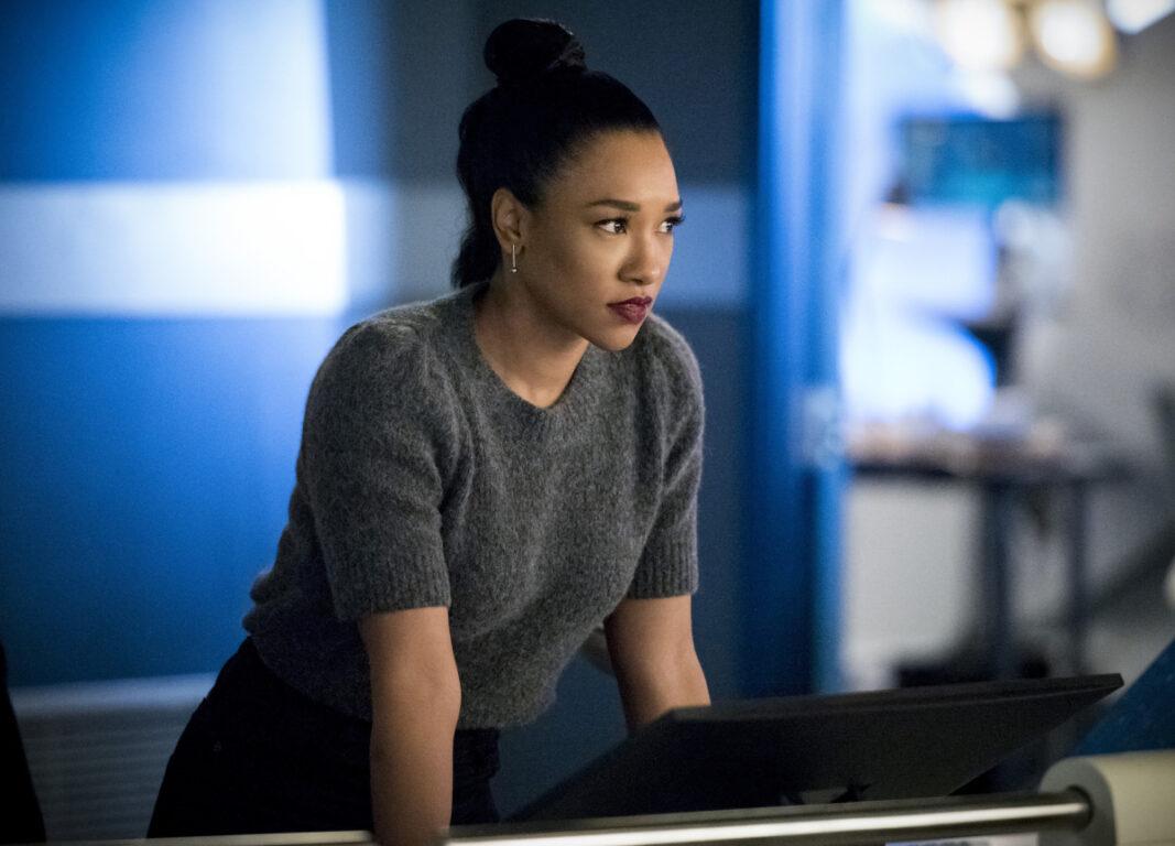 Candice Patton as Iris West - Allen in The Flash