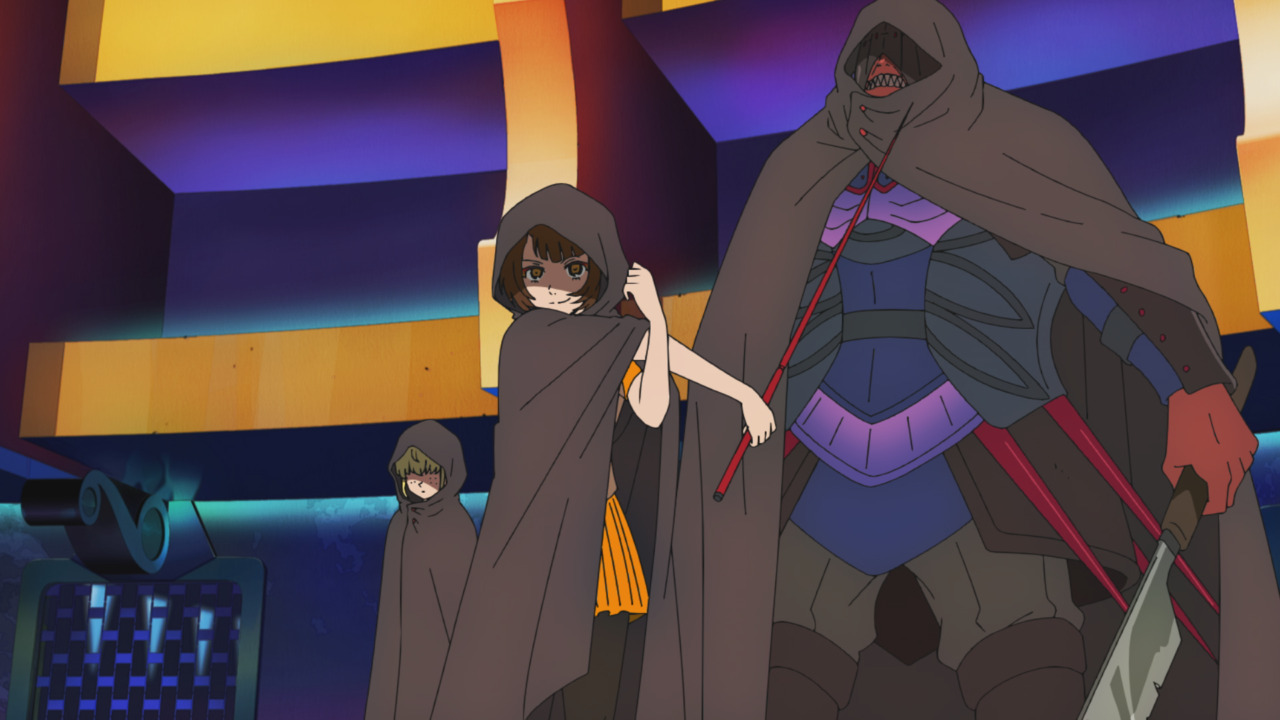 Rachel's team (Tower of God, season 1 episode 5 The Crown's Fate)