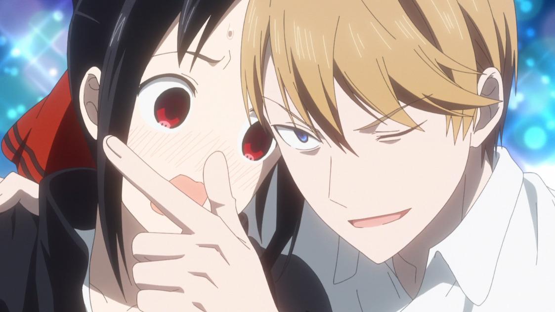 Kaguya and an uncharacteristically confident Miyuki Kaguya-sama: Love Is War! Season 2, Episode 3