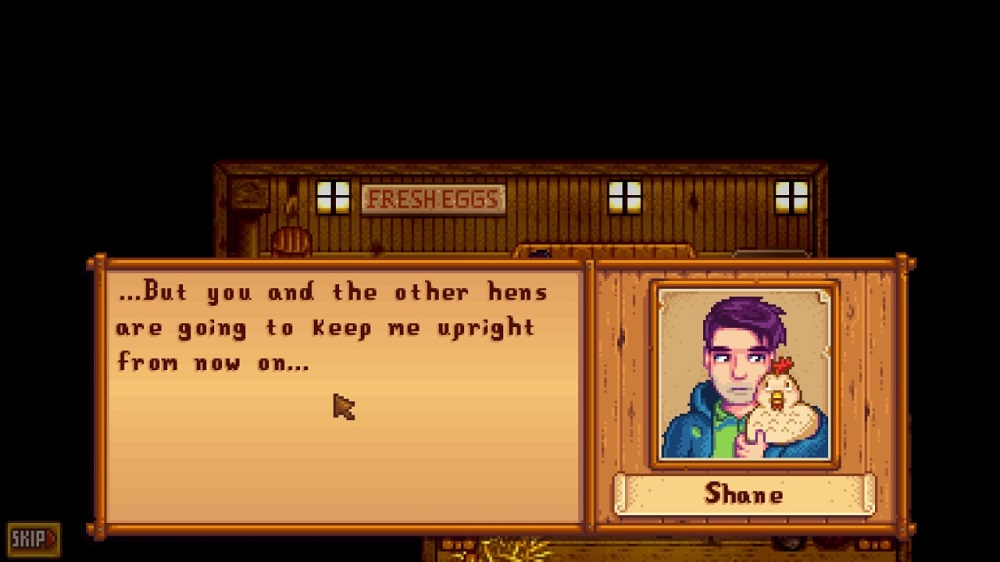 Stardew Valley: Shane and Charlie
