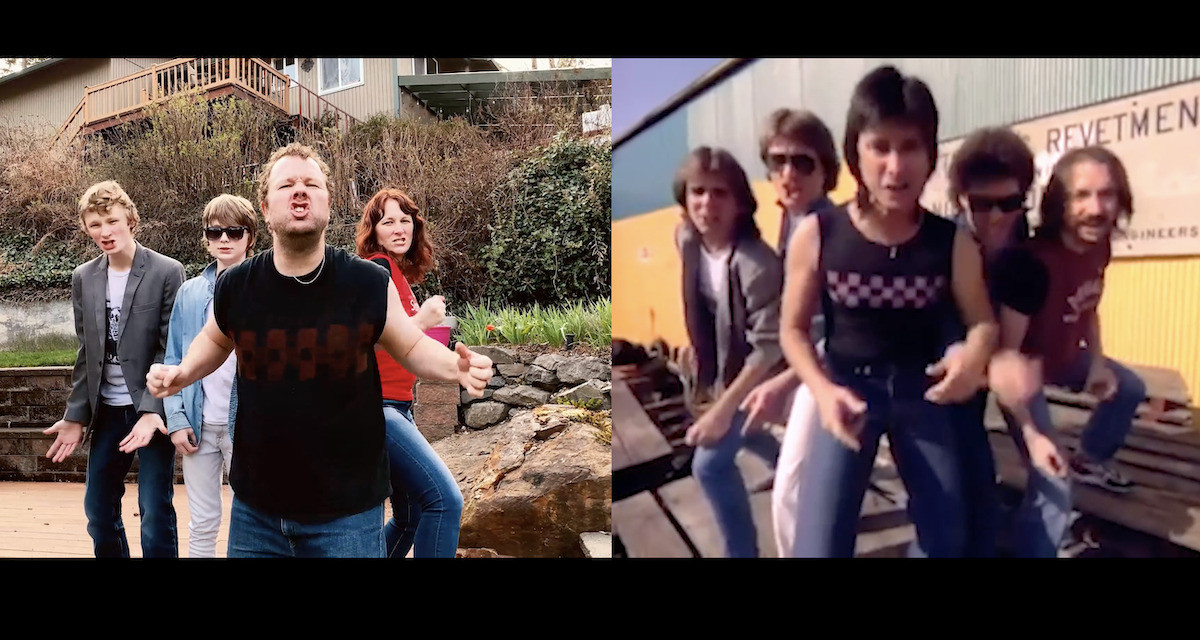 Family in Isolation Recreates Journey's Separate Ways Video Shot by Shot and It Is the Most Perfect Thing