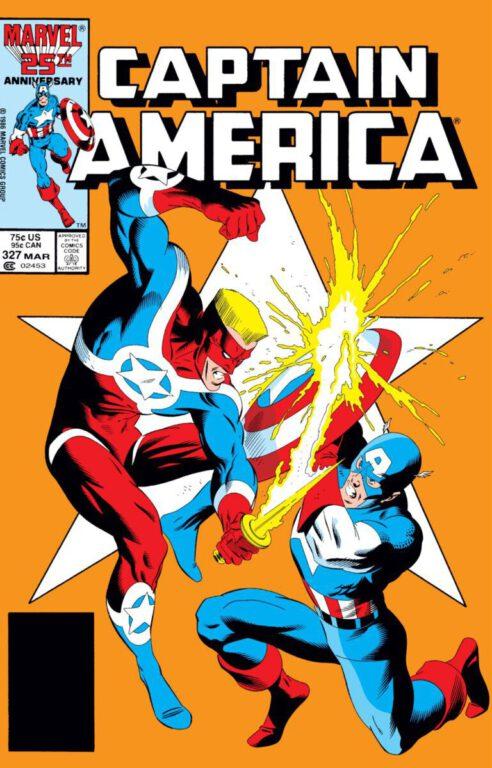 Captain America cover 327