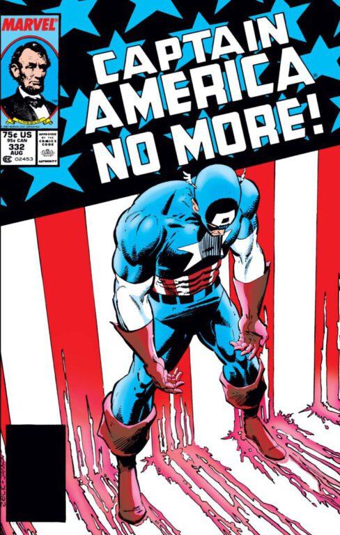 Marvel's Captain America No More cover