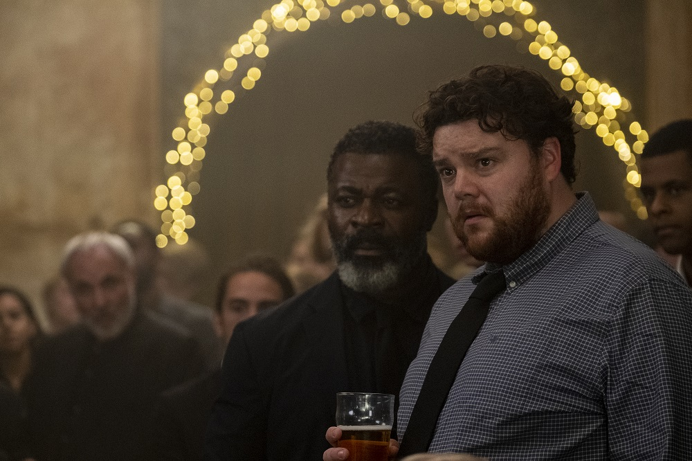 Still of Danny Sapani and Turlough Convery in Killing Eve