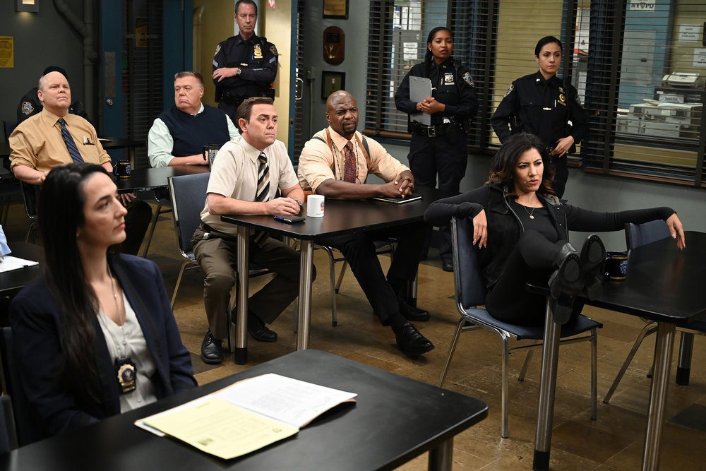 Still of the cast of Brooklyn Nine-Nine