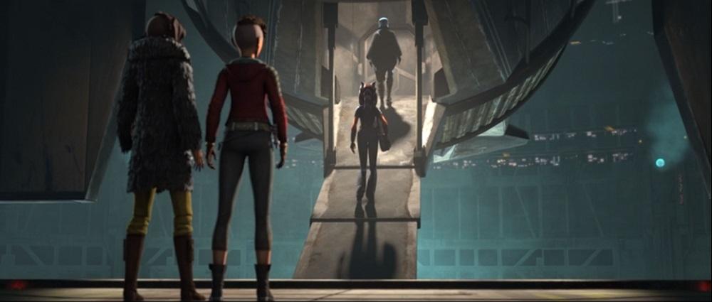 The Clone Wars: Ahsoka says goodbye