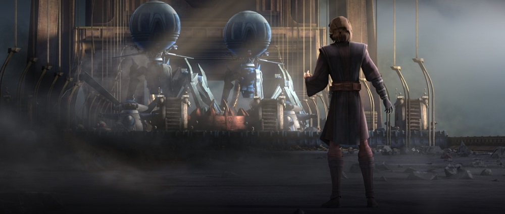 The Clone Wars: Anakin faces the Droid Army