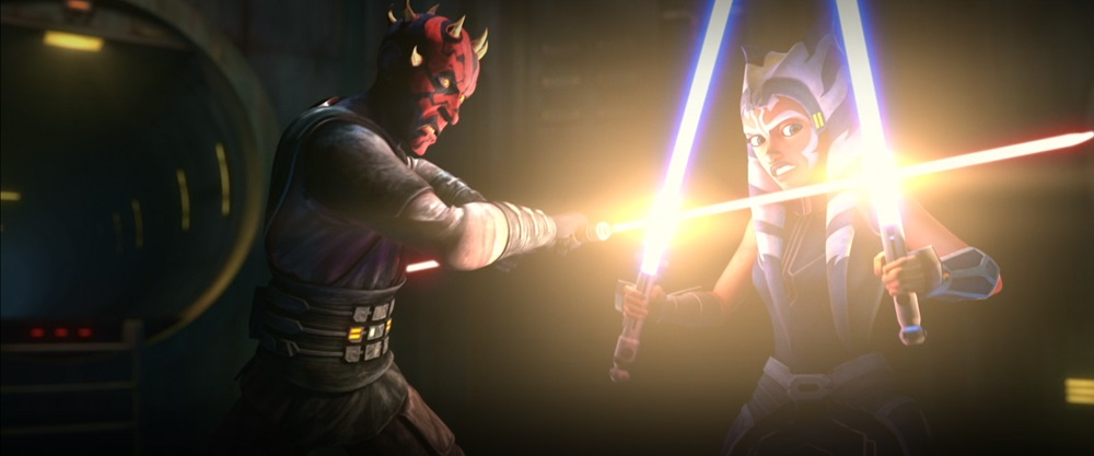 The Clone Wars: Ahsoka and Maul in the Undercity