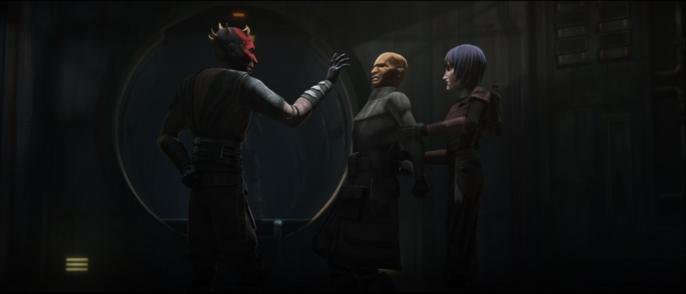 The Clone Wars: Maul and Jesse
