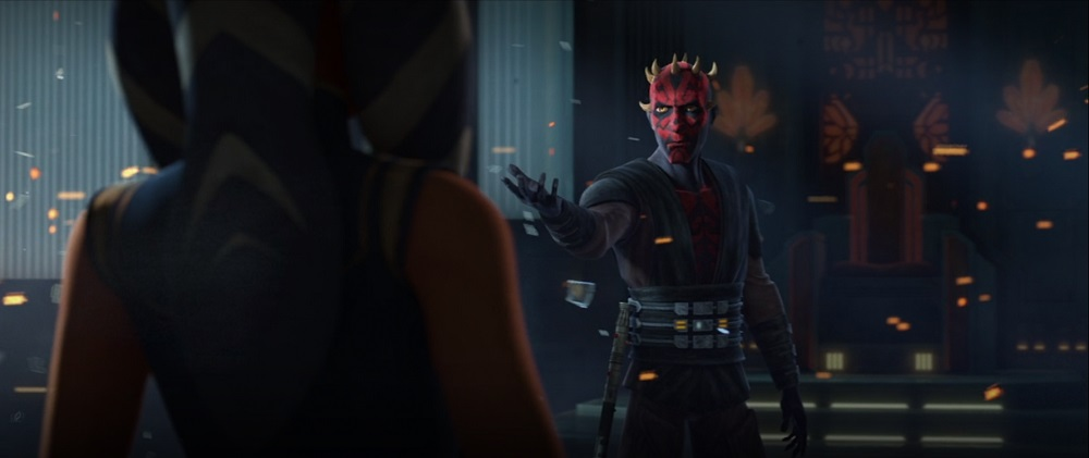 The Clone Wars: Maul asks Ahsoka to join him