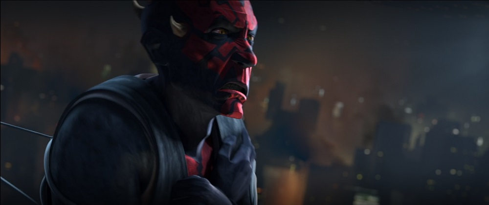 The Clone Wars: Maul is captured