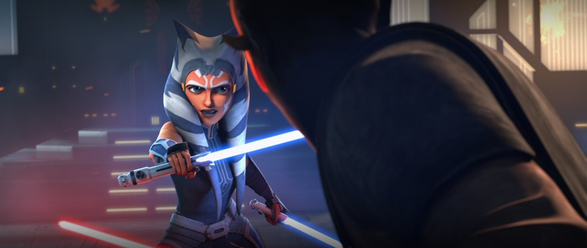THE CLONE WARS Featurette Takes a Look at the Maul Versus Ahsoka Duel